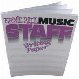 Ernie Ball 7019 Music Staff Writing Paper