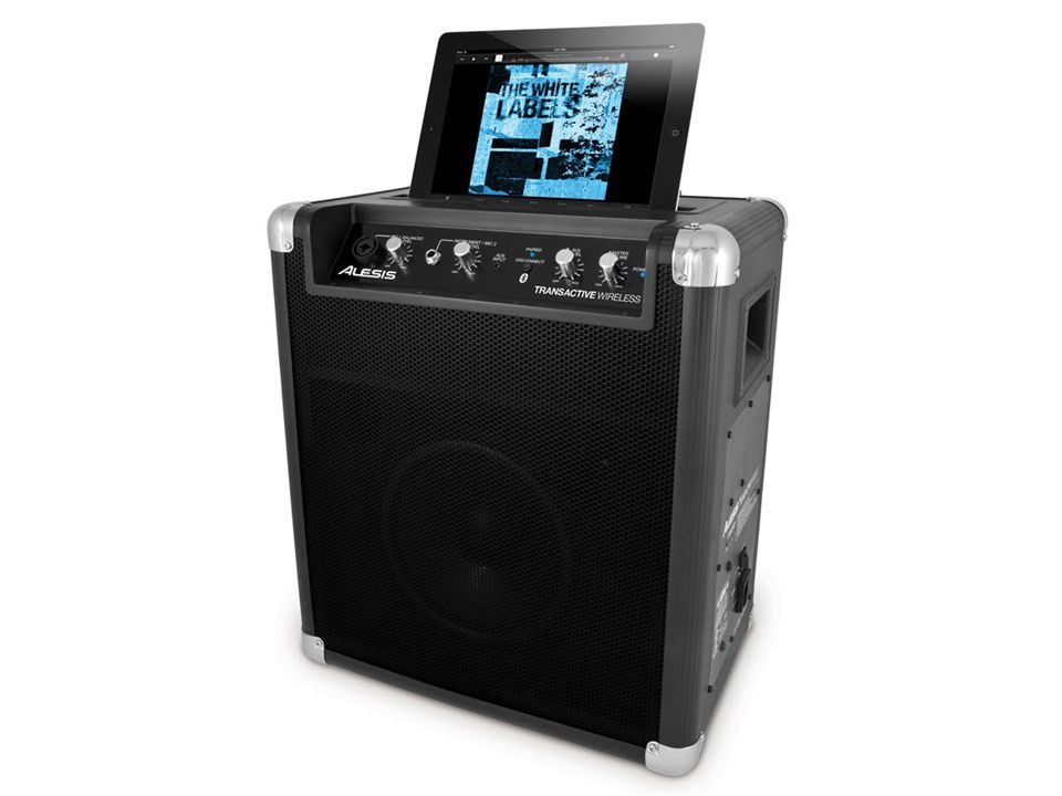 portable speakers system. alesis wireless portable bluetooth speaker speakers system