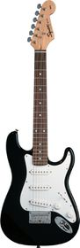 Squier by Fender Electric Guitar Mini Bullet Stratocaster - Black