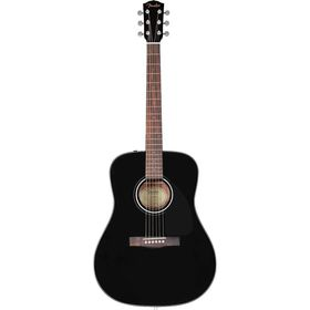 Fender CD-60 Acoustic Guitar Dreadnought - Black