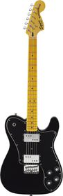 Squier by Fender Vintage Modified Telecaster Deluxe Electric Guitar - Black
