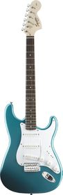 Squier by Fender Electric Guitar Affinity Series Stratocaster - Lake Placid Blue