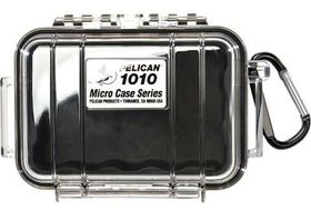 Pelican 1010 Micro Clear Case - Black