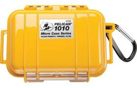 Pelican 1010 Micro Solid Case - Yellow
