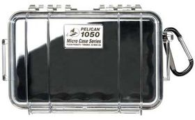 Pelican 1050 Clear Case - Black