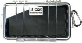 Pelican 1060 Clear Case - Black