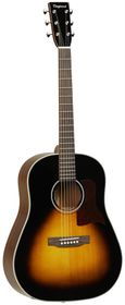 Tanglewood TW40 SD VS E Sundance Historic Acoustic Electric Guitar - Sunburst