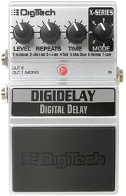 DigiTech XDD DigiDelay Digital Delay Guitar Effects Pedal