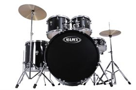 Mapex Prodigy 5pc Fusion Drumkit - Black (Including Hardware)