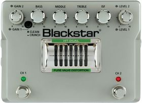 Blackstar HT Dual Pure Valve Distortion Guitar Effects Pedal