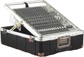 Gator G-MIX-12 PU ATA Molded 12U Pop-Up Rack Case For Mixer with Wheels