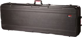 Gator GKPE-88SLXL-TSA ATA Molded PE Slim Extra Long Case for 88 Note Keyboard with Wheels