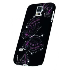 OXO Bling Butterfly Cover for S5 - Black