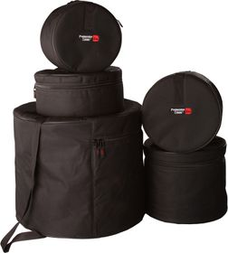 Gator GP-FUSION-100 Standard Series Padded Bags for 5-Piece Fusion Drumkit Set