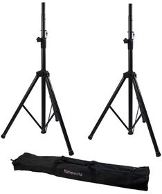Frameworks by Gator GFW-SPK-2000SET Speaker Stands with Carry Bag (Pair)