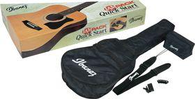Ibanez V50NJP-VS Jampack Quick Start Acoustic Guitar Pack - Sunburst