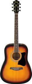 Ibanez V50NJP-VS Jampack Quick Start Acoustic Guitar Pack - Sunburst