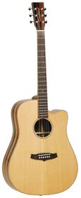 Tanglewood TWJDCE Java Acoustic Electric Guitar - Natural