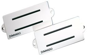 DiMarzio DP127BK Split P Replacement Pickup For Fender P-Bass - White