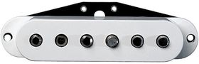 DiMarzio DP176W True Velvet Bridge Replacement Electric Guitar Pickup For Fender Strat - White