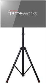 Frameworks by Gator GFW-AV-LCD-2 Deluxe Tripod Stand For LCD / LED Screens