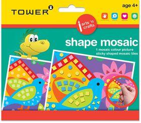 Tower Kids Shape Mosaic - Bird