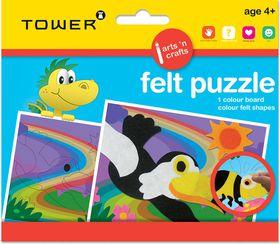 Tower Kids Felt Puzzle - Bird