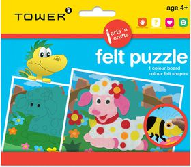 Tower Kids Felt Puzzle - Sheep