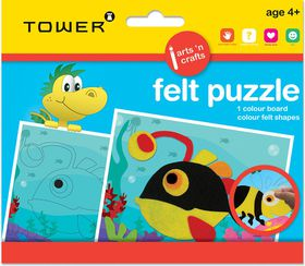 Tower Kids Felt Puzzle - Fish