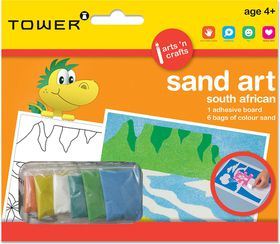 Tower Kids Sand Art South African - Table Mountain