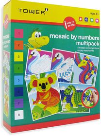 Tower Kids Multipack - Mosaic by Numbers