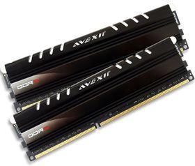 Avexir 8GB DDR3 1600MHz Core Desktop Memory (2 x 4GB) - Blue