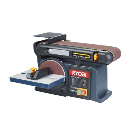 Fabulous Ryobi 370W 150Mm Belt Disc Sander Caraccident5 Cool Chair Designs And Ideas Caraccident5Info