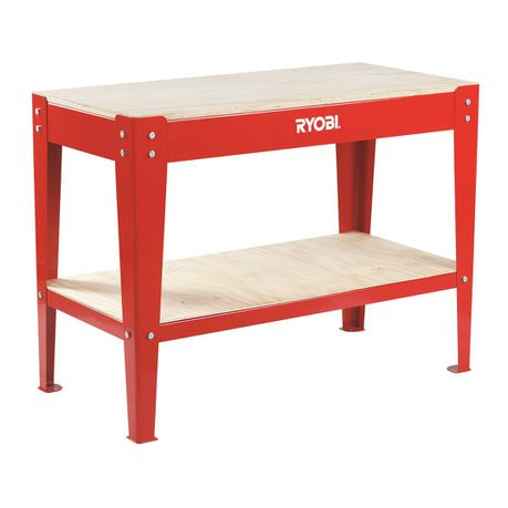 Ryobi - Heavy Duty Work Bench - Red