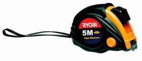 Ryobi - Tape Measure 5M X 19Mm Blade Rubber Casing