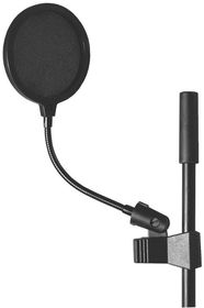 "On Stage ASVS4-B 4"" Microphone Pop Filter"