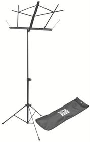 On Stage SM7122BB Compact Sheet Music Stand with Bag - Black