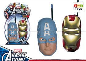 Avengers Iron Man 3 + Captain America Walkie Talkie Face