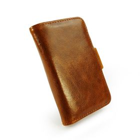 Tuff-Luv Vintage Leather Wallet Style Case for iPhone 4/4S