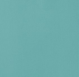 American Crafts Cardstock 12x12 Textured - Robins Egg