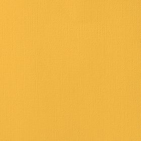 American Crafts Cardstock 12x12 Textured - Dandelion