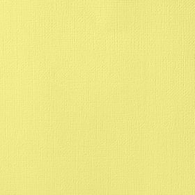 American Crafts Cardstock 12x12 Textured - Canary