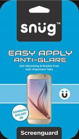 Snug Galaxy S6 Antiglare Easy Apply Screenguard