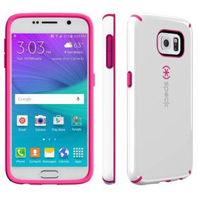 Speck Galaxy S6 Candyshell - White/Raspberry Pink