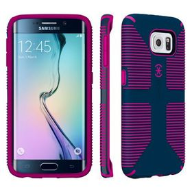 Speck Galaxy S6 Edge Candyshell Grip - Blue/Pink