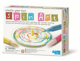 4M Create Your Own Spin Art
