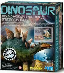 4M Dig A Stegosaurus Skeleton