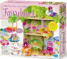4M Make Your Own Mini Dollies Fairyland