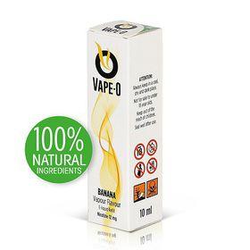 Vape-O Nicotine Refill Liquid - Banana Flavour -12mg