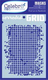 Celebr8 Mask - Corroded Grid